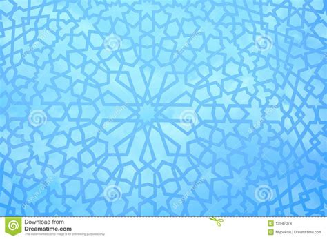 blue islamic pattern moroccan geometric pattern royalty free stock photos