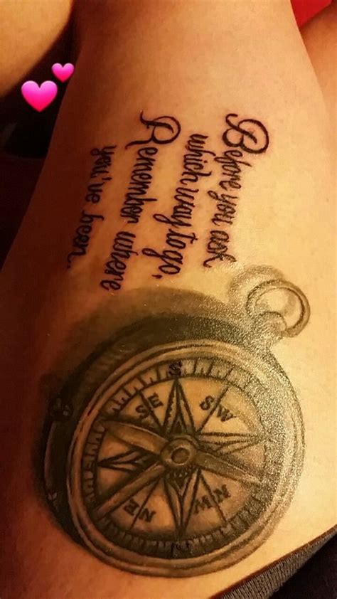 compass tattoo little 30 best compass tattoo images on pinterest compass