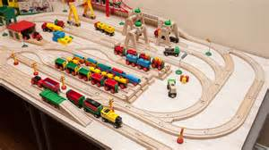 brio layouts brio wooden railway guide