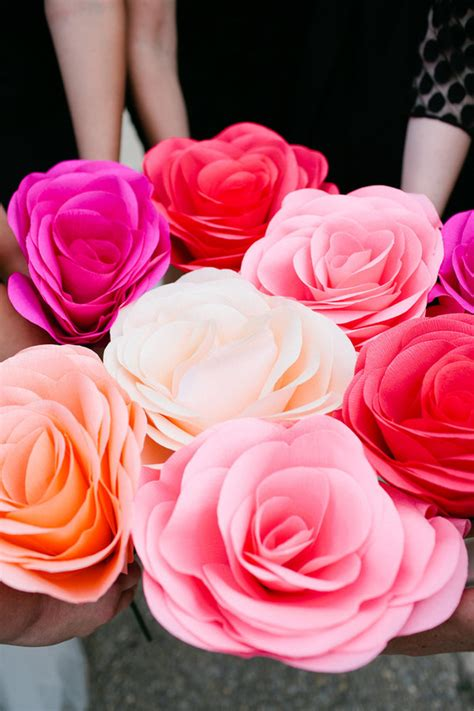 How To Make Paper Flowers For Weddings - diy paper flower wedding diy wedding 100