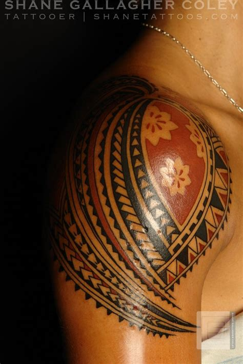 polynesian sun tattoo designs polynesian tattoos polynesian shoulder