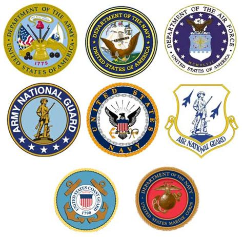 military armed forces logo military logo clip art 57