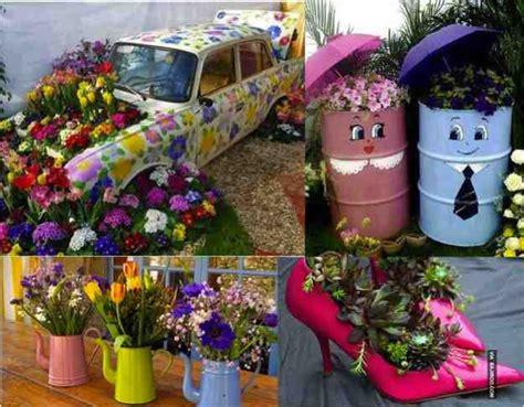 Funky Garden Ideas 35 Funky Fantastic Low Budget Diy Garden Planter