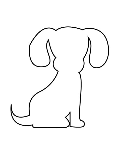 puppy template puppy stencil www pixshark images galleries