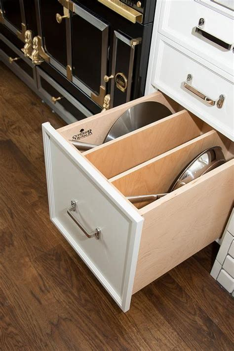 Pot Drawer Dividers by La Cornue Range Design Ideas
