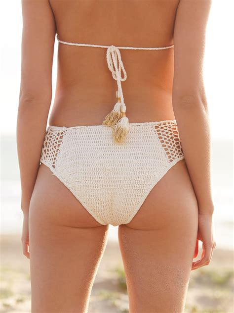 Crochet Bottoms lyst free high waisted crochet bottoms 70
