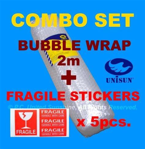 Packing Plastik Stiker Fragile wrap 1m x 2m fragile sticke end 12 9 2017 5 15 pm