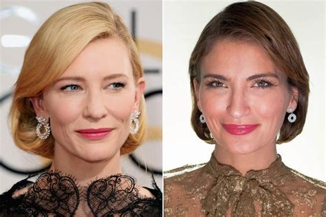 Get The Look Cate Blanchetts Feathered Tresses 2 by Get The Carpet Hair Look Cate Blanchett Stylebistro