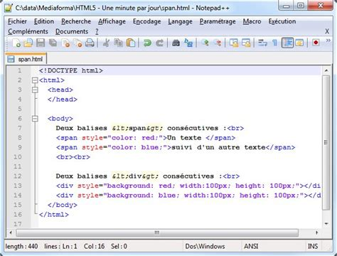 html layout div span html5 span vs div phpsourcecode net
