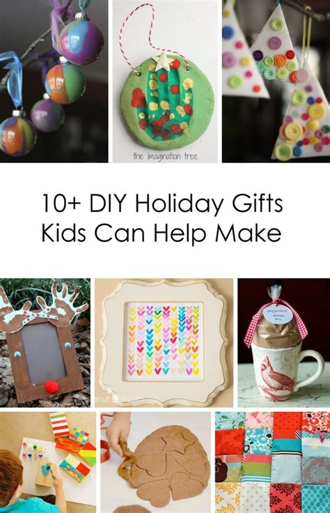Handmade Childrens Gifts - 10 diy gifts can help make