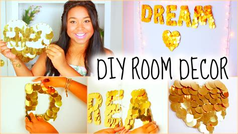 Teenage Bedroom Decorating Ideas by Diy Room Decor For Teens Cheap Amp Cute Youtube