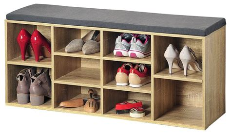 amazon com winsome dayton storage hall bench with shelves kesper banc de rangement 224 chaussures avec coussin d