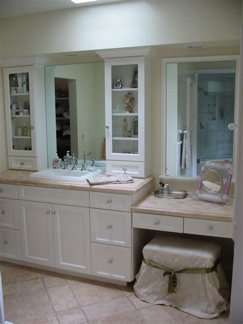 Master bathroom remodel dressing area tarzana ca traditional bathroom los angeles by