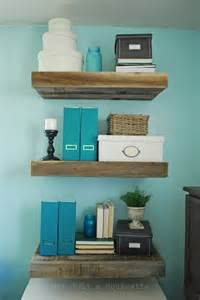 diy reclaimed wood shelves reclaimed wood floating shelves not just a