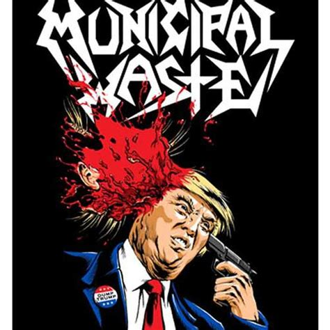 Mucipal Waste municipal waste poster flag