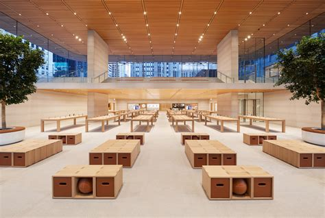 home design store michigan a look inside chicago s new norman foster designed apple flagship archpaper com