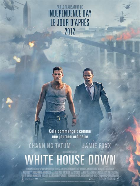 film action white house affiche du film white house down affiche 1 sur 7 allocin 233