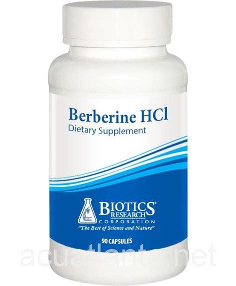 supplement berberine berberine hcl 90 capsules by biotics research on sale in