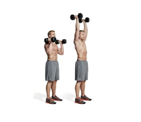 best dumbell only shoulder workout get big shoulders