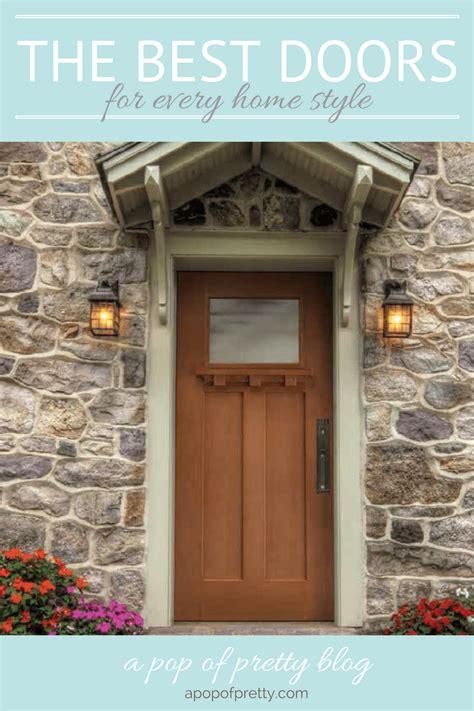 front doors   home style masonite  pop