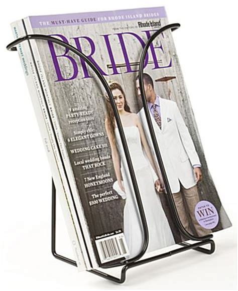 Tabletop Literature Rack by Tabletop Metal Magazine Holder Black Steel Wire