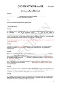 warehouse lease agreement template 3pl contract template resume template templates uk best