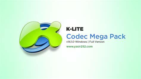 K Lite Software by K Lite Mega Codec Pack Terbaru V14 1 0 Yasir252