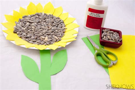 Paper Plate Sunflower Craft - 4 sunflower crafts for