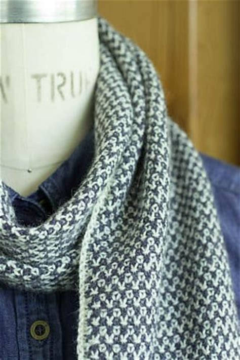 two color knit scarf 1000 ideas about linen stitch on knitting