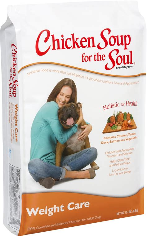 chicken soup for the soul food chicken soup for the soul weight care food 30 lb bag chewy