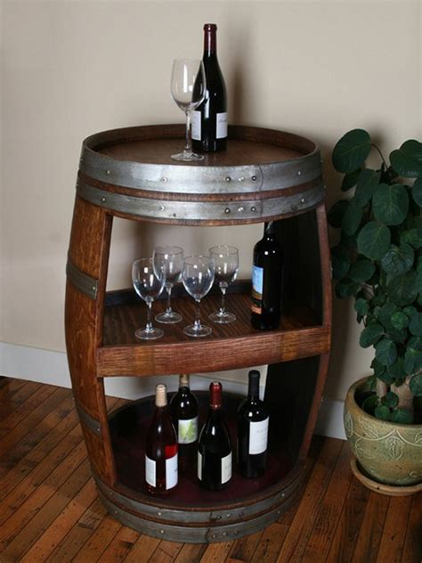 wine barrel decor images