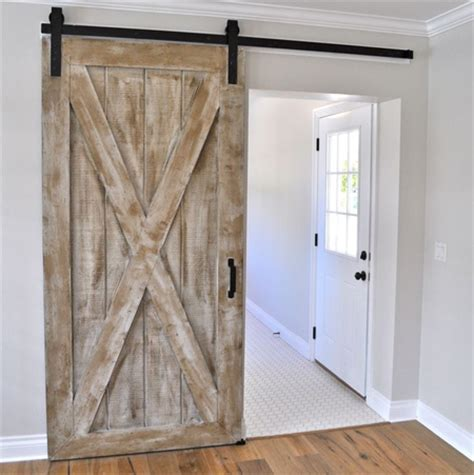 sliding doors barn style home dzine home diy diy barn style sliding door