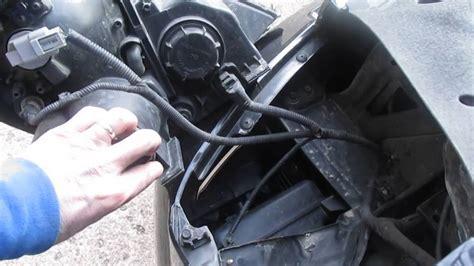 service manual 2006 kia sedona headlight removal