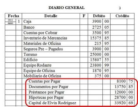 ejemplo libro diario contabilidad diario general contabilidad b 225 sica