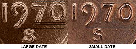 s date 1970 s lincoln memorial cent large date low 7 copper