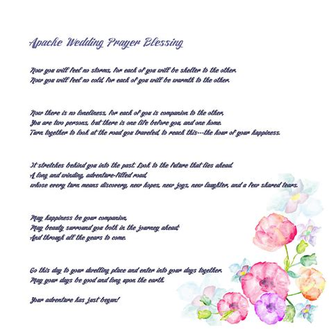 Apache Wedding Blessing Version the apache wedding blessing version drawing by