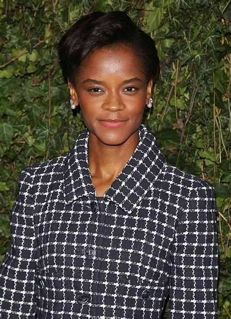 letitia wright website letitia wright at charles finch chanel pre bafta party