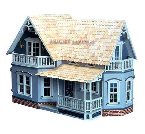 ebay doll house the farmhouse magnolia doll house kit dollhouse wood ebay