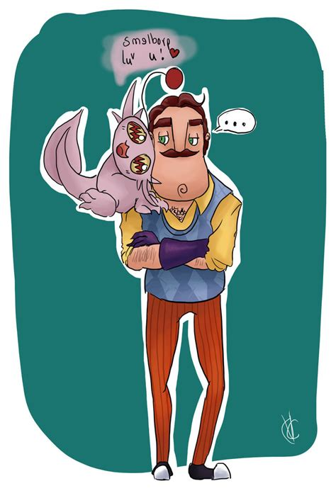 hello neighbor fan games when i see cute awesome hello neighbor fanart by