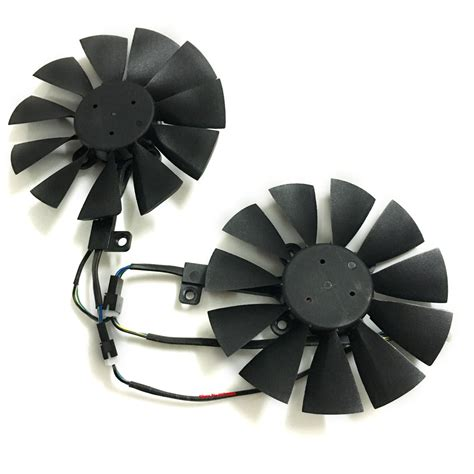 graphics card fan replacement computer vga gpu cooler graphics card 85mm fan t129215su