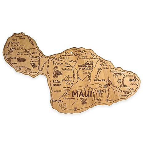 bed bath and beyond maui totally bamboo destination maui cutting serving board