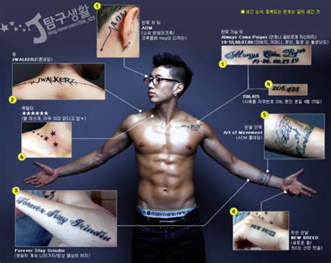 jay park tattoos k world style k pop k drama fashion or not