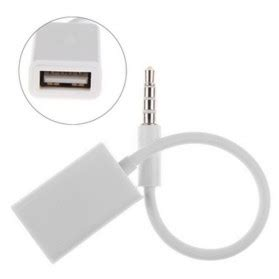 Adapter Audio Aux 3 5mm Ke Rca Omcl2mbk mhl micro usb to rca hdtv adapter av cable white