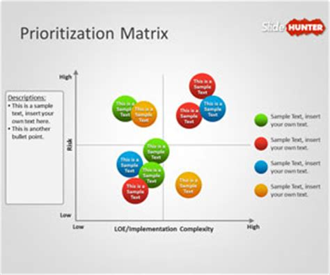 priority matrix template free prioritization matrix powerpoint template free