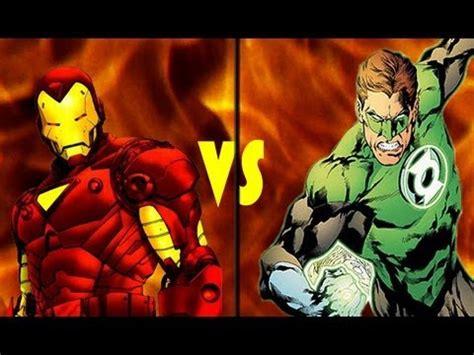 iron man green lantern deathmatch youtube