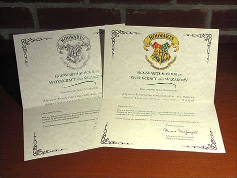 Harry Potter Acceptance Letter Ebay Harry Potter Hogwarts Acceptance Letter Marauders Map Ebay