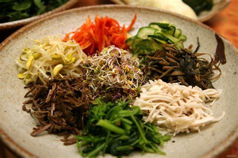 food ingredients file korean food bibim ssambap ingredient 01 jpg the free encyclopedia