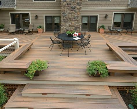 terrasse idee terrasse en bois 75 id 233 es pour une d 233 co moderne