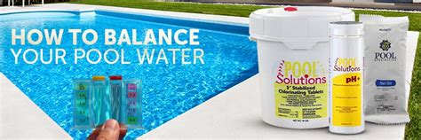 balancing your pool water how to balance your pool water inyopools