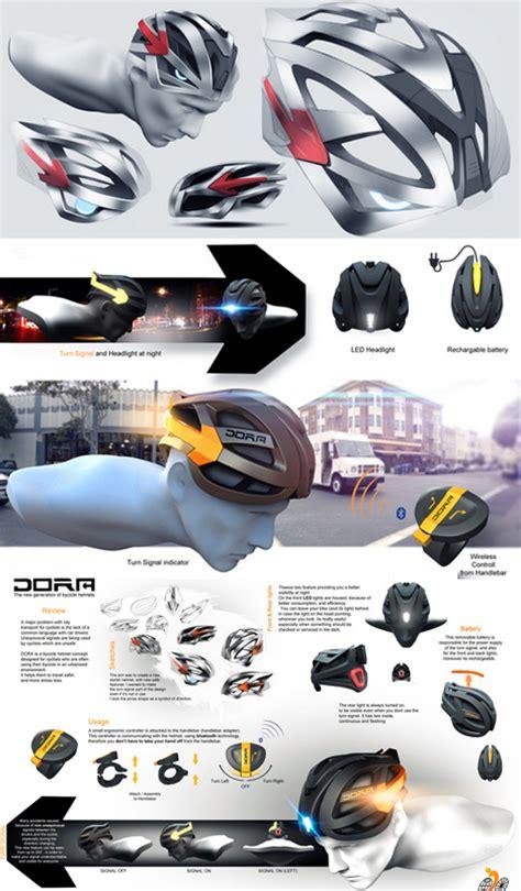 design your bike helmet all in one bicycle helmet sleek integrated lights